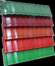 Металлочерепица, крыша