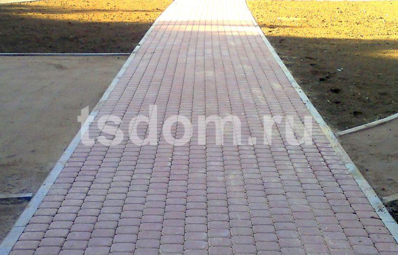 Укладка тротуарной плитки от Техстройдом