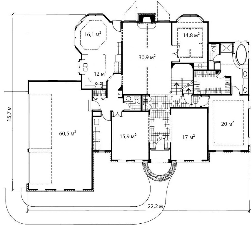 План первого этажа 10