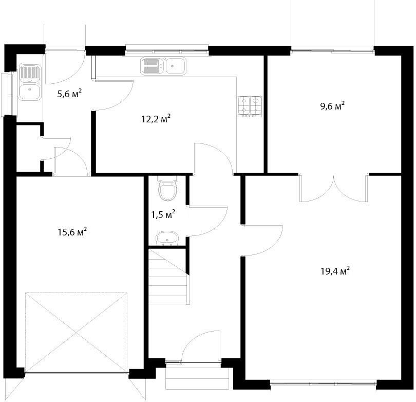 План первого этажа 14