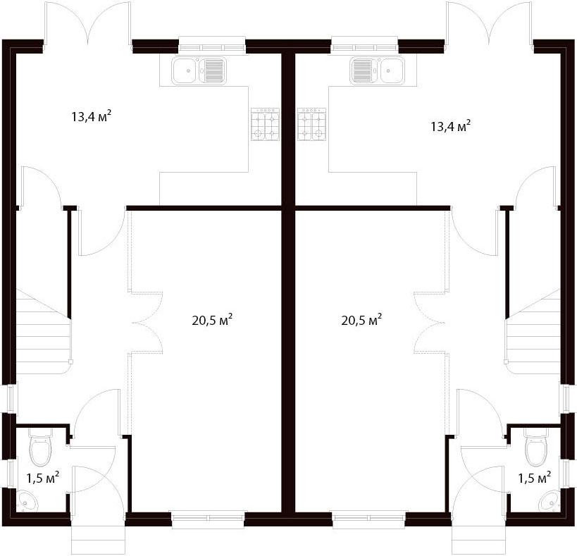 План первого этажа 22