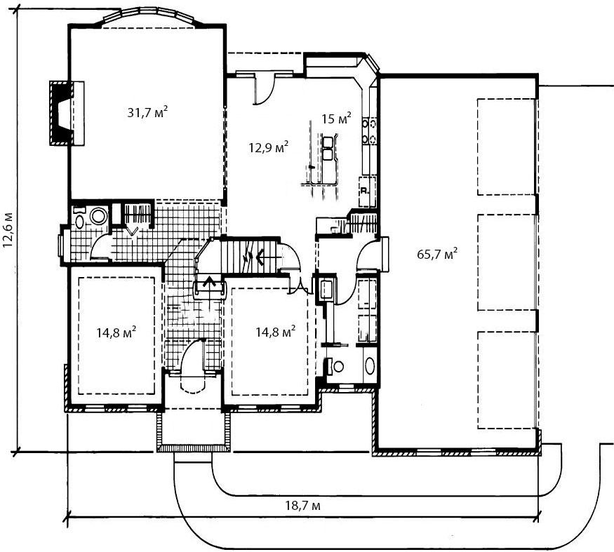 План первого этажа 3