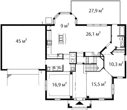 План первого этажа 42