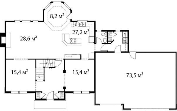 План первого этажа 43