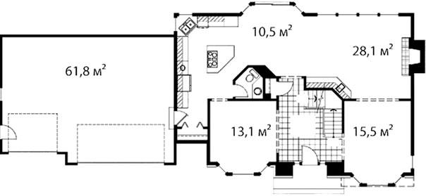 План первого этажа 44