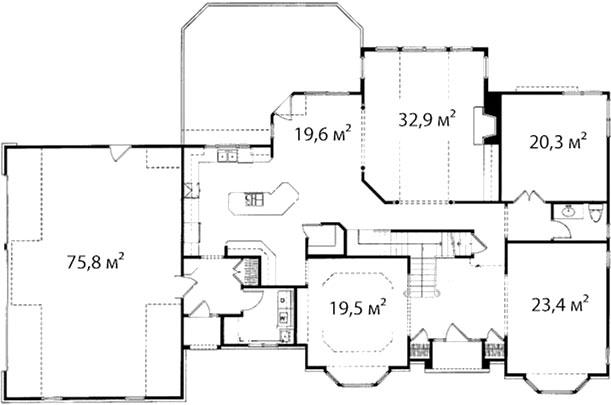 План первого этажа 47