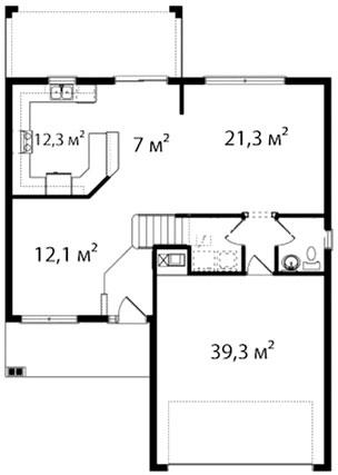 План первого этажа 56