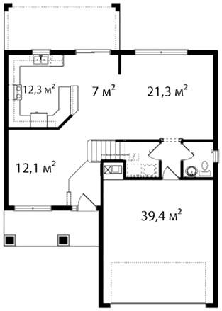 План первого этажа 57