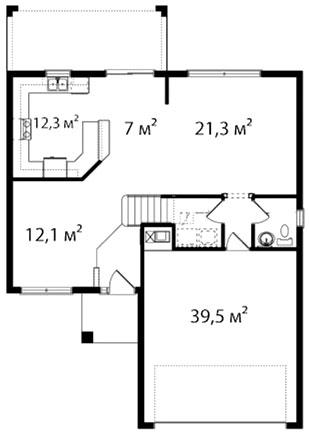 План первого этажа 58