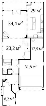 План первого этажа 59