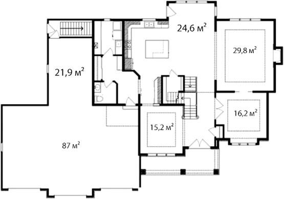 План первого этажа 61