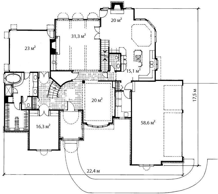 План первого этажа 7
