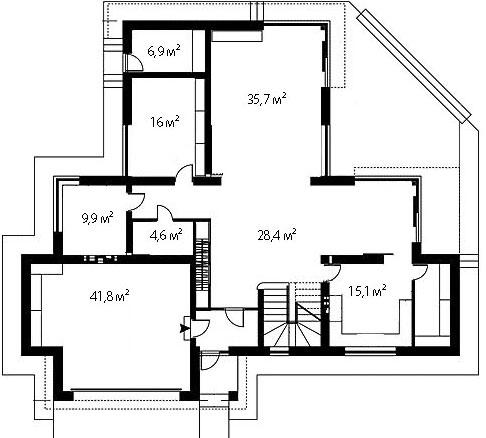 План первого этажа 71
