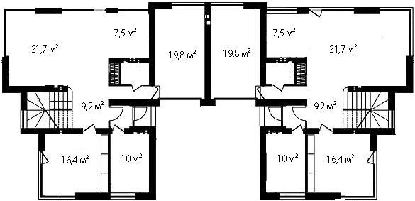 План первого этажа 76