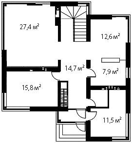 План первого этажа 79