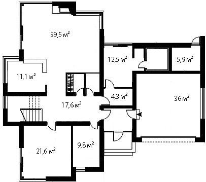 План первого этажа 81