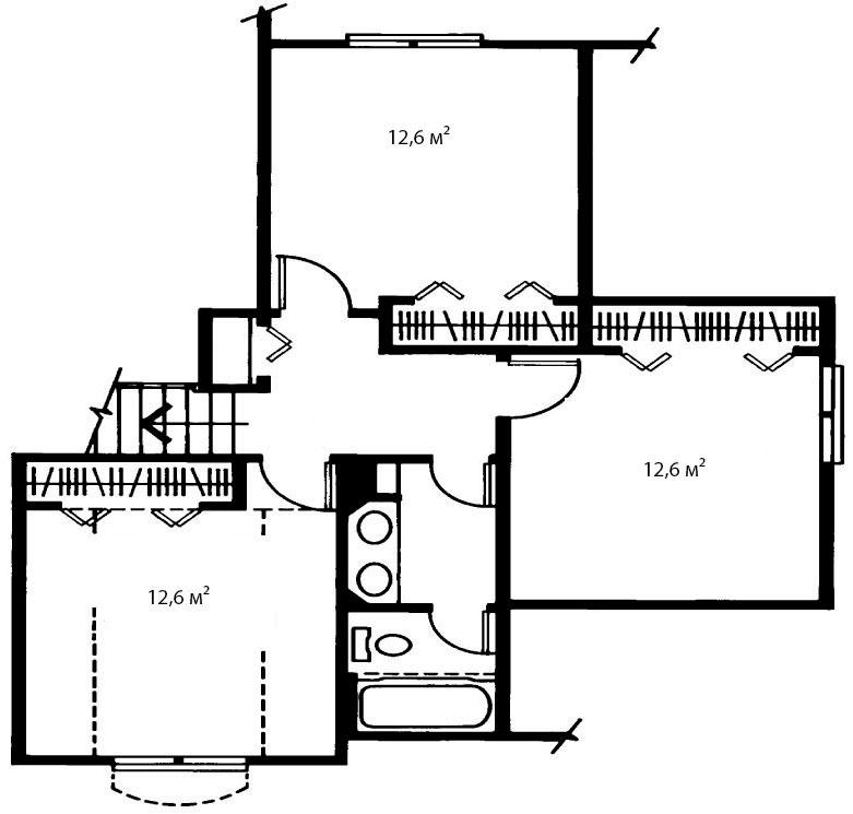 План второго этажа 1