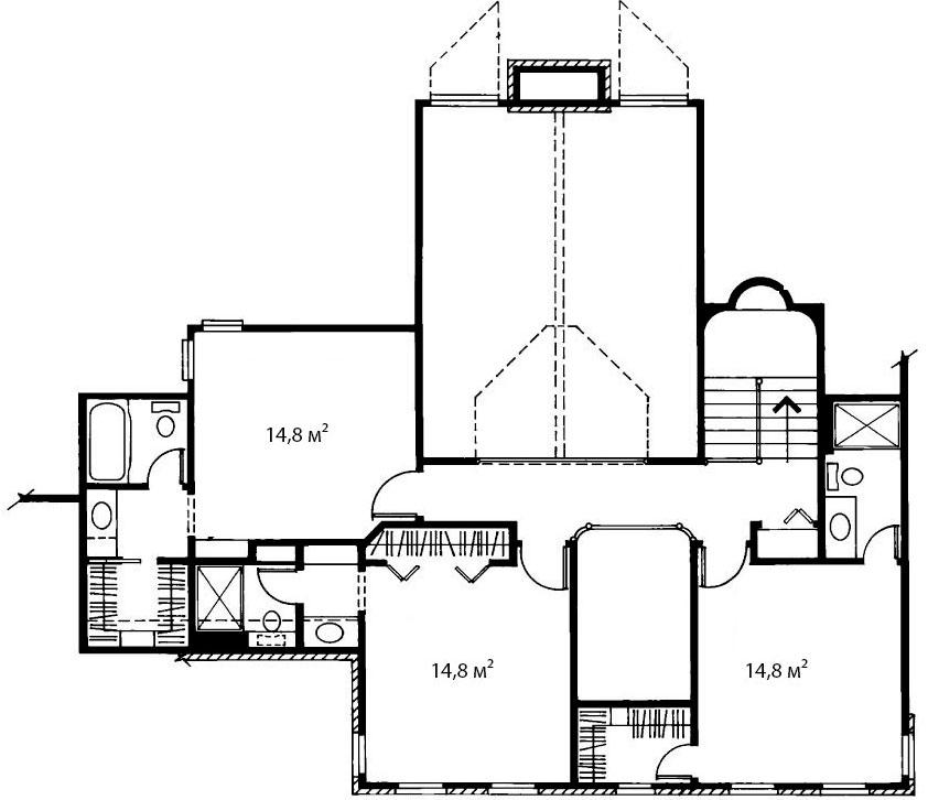 План второго этажа 10