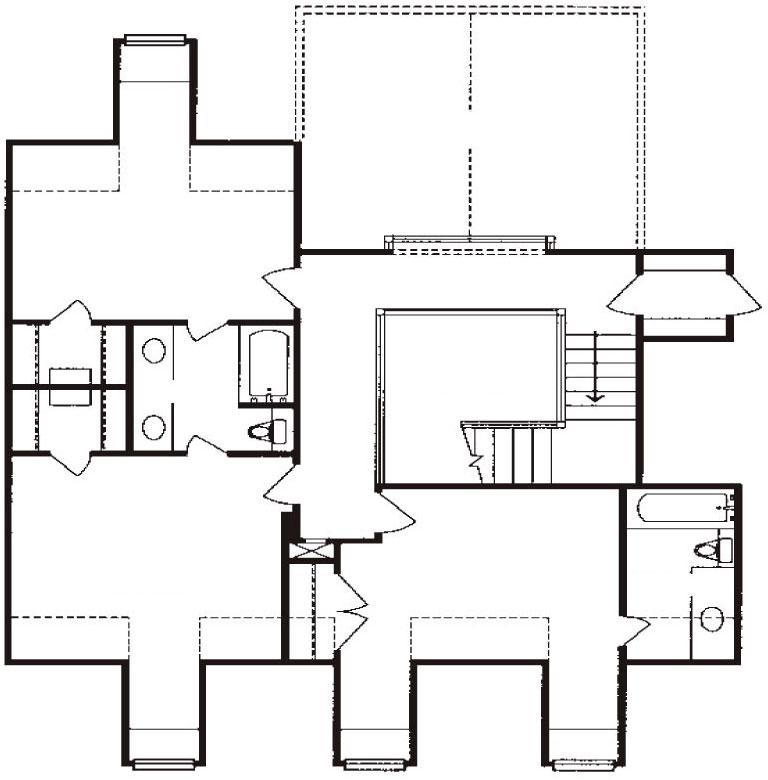 План второго этажа 11