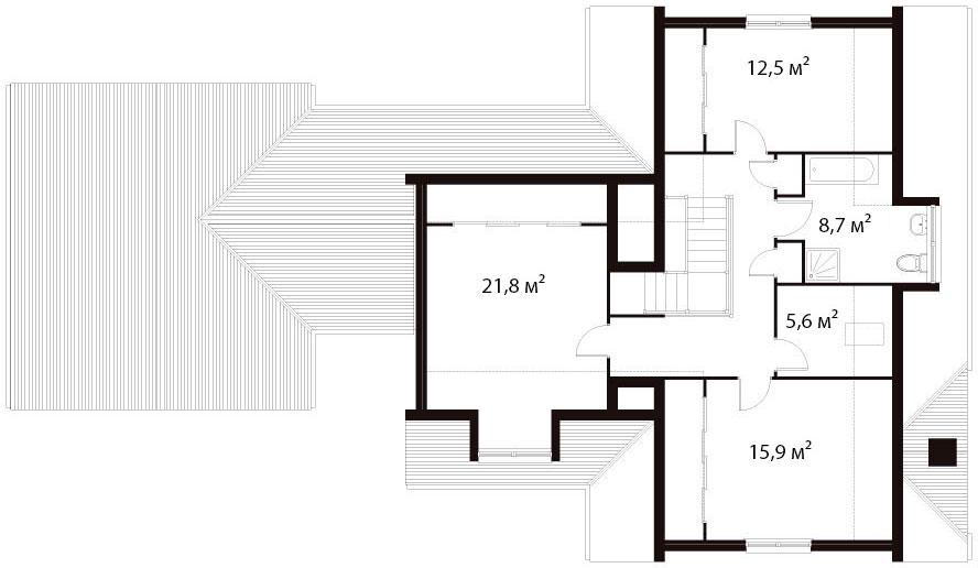 План второго этажа 18