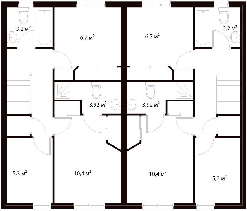 План второго этажа 22