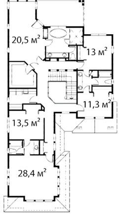 План второго этажа 40