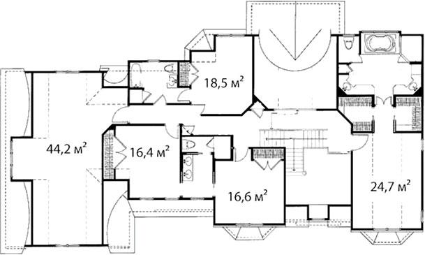 План второго этажа 47