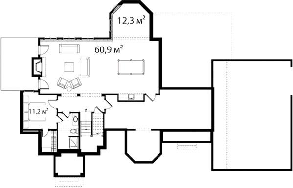 План второго этажа 52