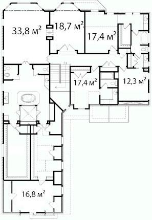 План второго этажа 53