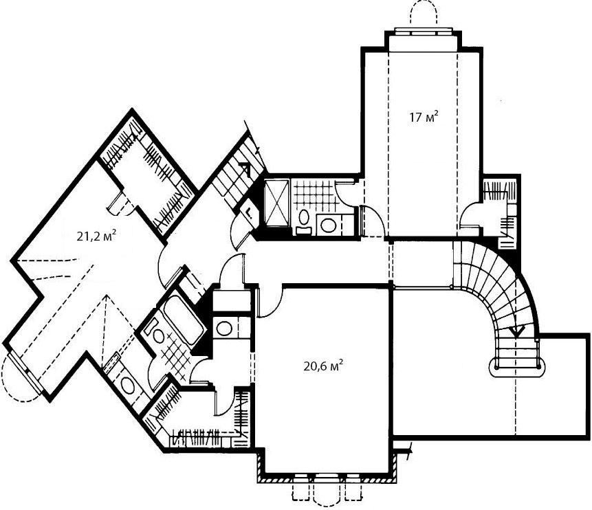 План второго этажа 6