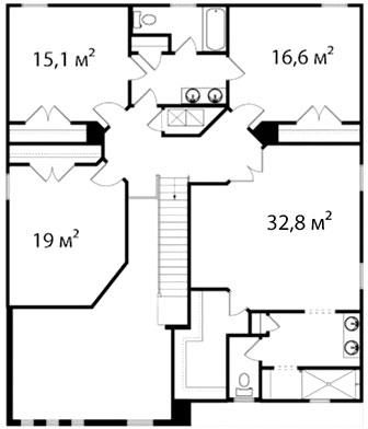 План второго этажа 68