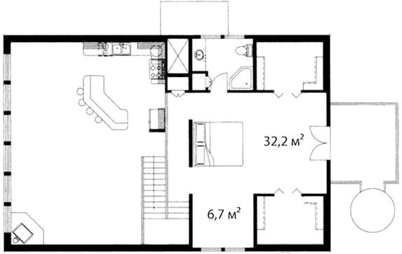 План второго этажа 69