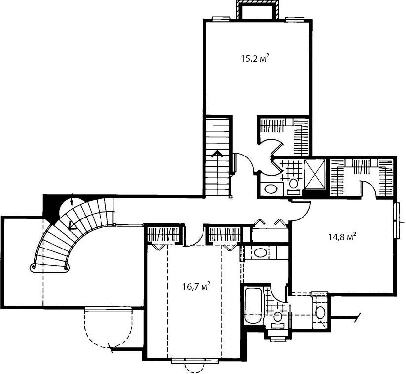 План второго этажа 7