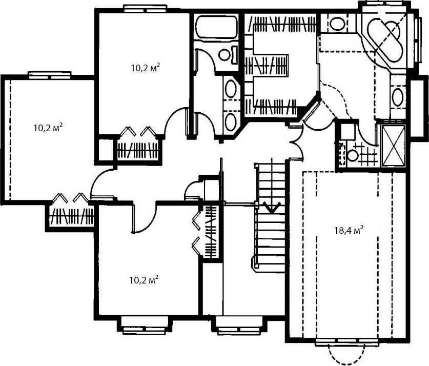 План второго этажа 8