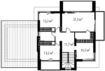 План второго этажа 73