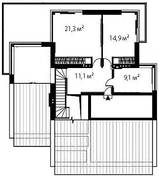 План второго этажа 93