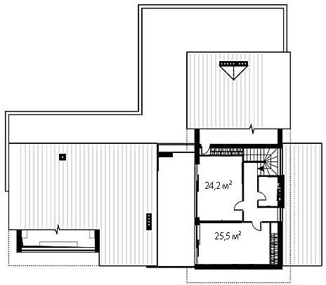 План второго этажа 95