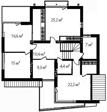План второго этажа 97
