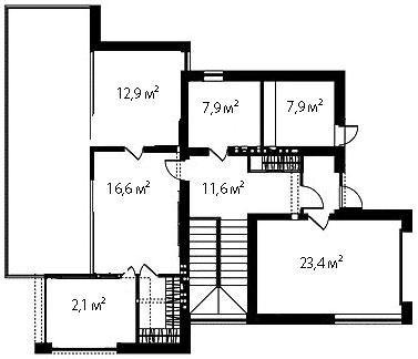 План второго этажа 99