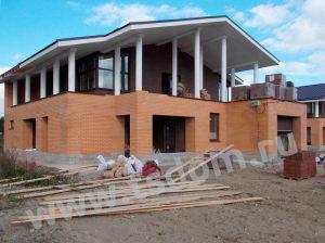 Строительство дома в Лен области по индивидуальному заказу от компании Техстройдом
