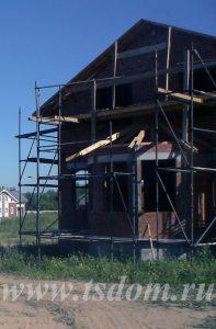 Строительство дома в Санкт-Петербурге от компании Техстройдом