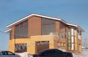 Строительство коттеджа в Лен области по индивидуальному заказу