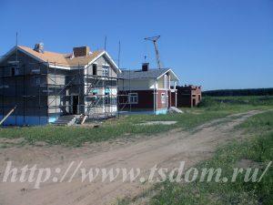 Строительство коттеджа в СПб по индивидуальному заказу